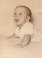 My father, Greg Manning, as a wee babe.