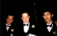 Damn, we looked snazzy at the prom. June 1998.