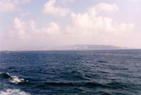 My first glimpse of Israeli shores, Haifa.