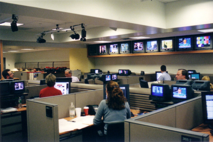 The NBC Nightly News newsroom, where it all comes together.
