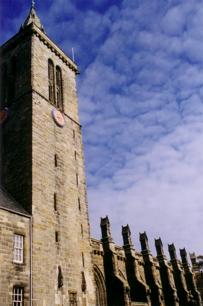 St. Andrews University, Scotland. March 2004.