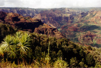Waimea Canyon. Mark Twain called it the &quot;Grand Canyon of the Pacific&quot;.