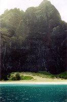 More Napali Coast. Supposedly the dune in front of the mountain was somewhere in the original Star Wars film.