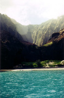 This particular valley was made famous in the opening scene of Jurassic Park, when they fly onto the island.
