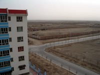 We literally live on the edge of town...looking south-east towards Xinjiang nothingness.
