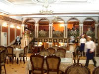 Bordun is probably the swankiest-looking (though not most expensive) restaurant in town, and serves damn good Uyghur food.
