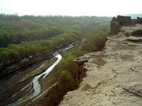 Another river valley lies on the other side of Jiaohe.