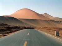 Cool super-sand dune. Almost at Bezeklik.