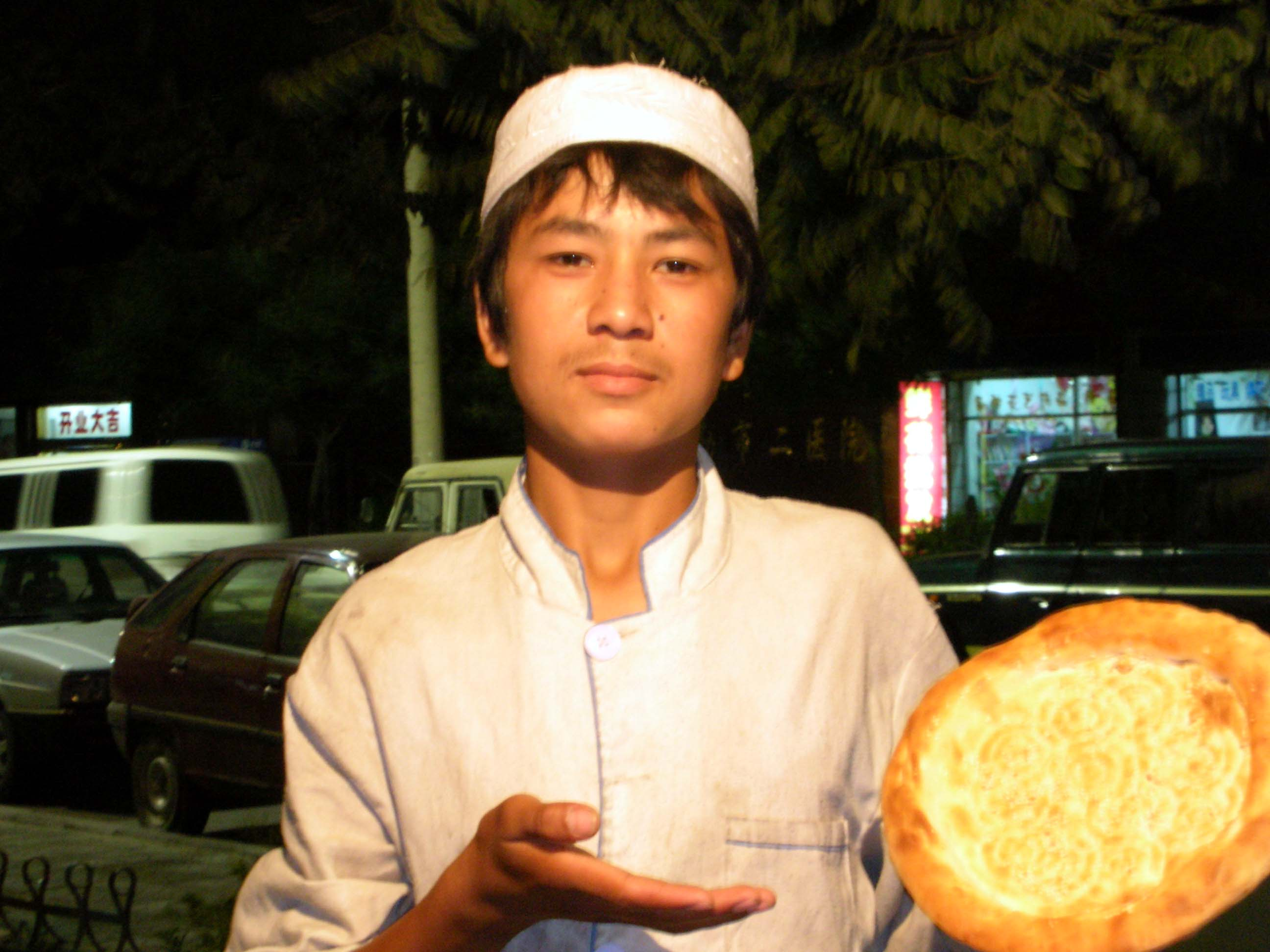 Give proper respect to the Nang boys of the Railway District! They make the finest Uyghur bread in Korla.