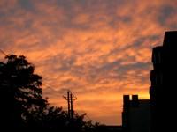 Another interesting sunset in Korla.