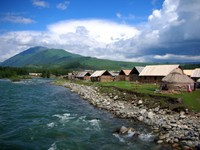 Highlight for Album: Altai (Aletai): Kanas Lake to Hemu