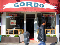 Absolutely San Francisco's finest burrito. Gordo's is an old childhood favorite of mine.