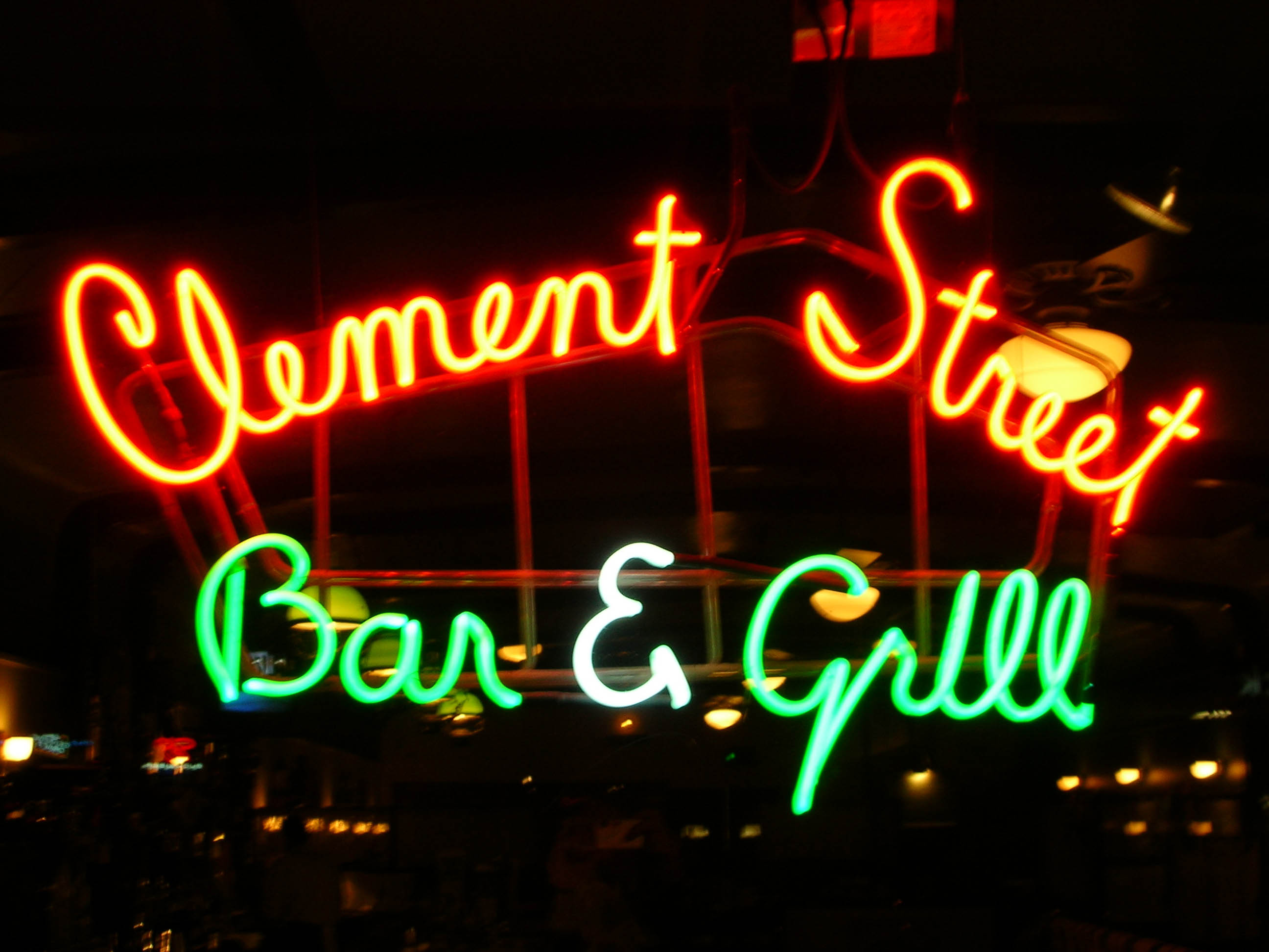 Another old haunt of mine (from when I was a little kid, that is). For an old-school atmosphere and a really good burger try the Clement St. Bar & Grill in San Francisco.