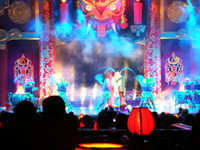 Tang Palace in Xian puts on a great show featuring spectacular dancing and a live orchestra playing traditional Chinese instruments. You should, however, avoid paying Y200 for the sub-par dinner served beforehand.