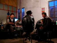 Taken inside a small Uyghur restaurant in Kuqa while we ate a dinner of laghman (or bamian if you prefer).
