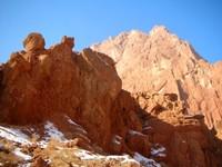 More canyon rocks.