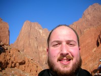 Self-portrait in front of the Mystical Grand Canyon of Kuqa.