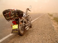 Highlight for album: Xinjiang Motorcycle Madness