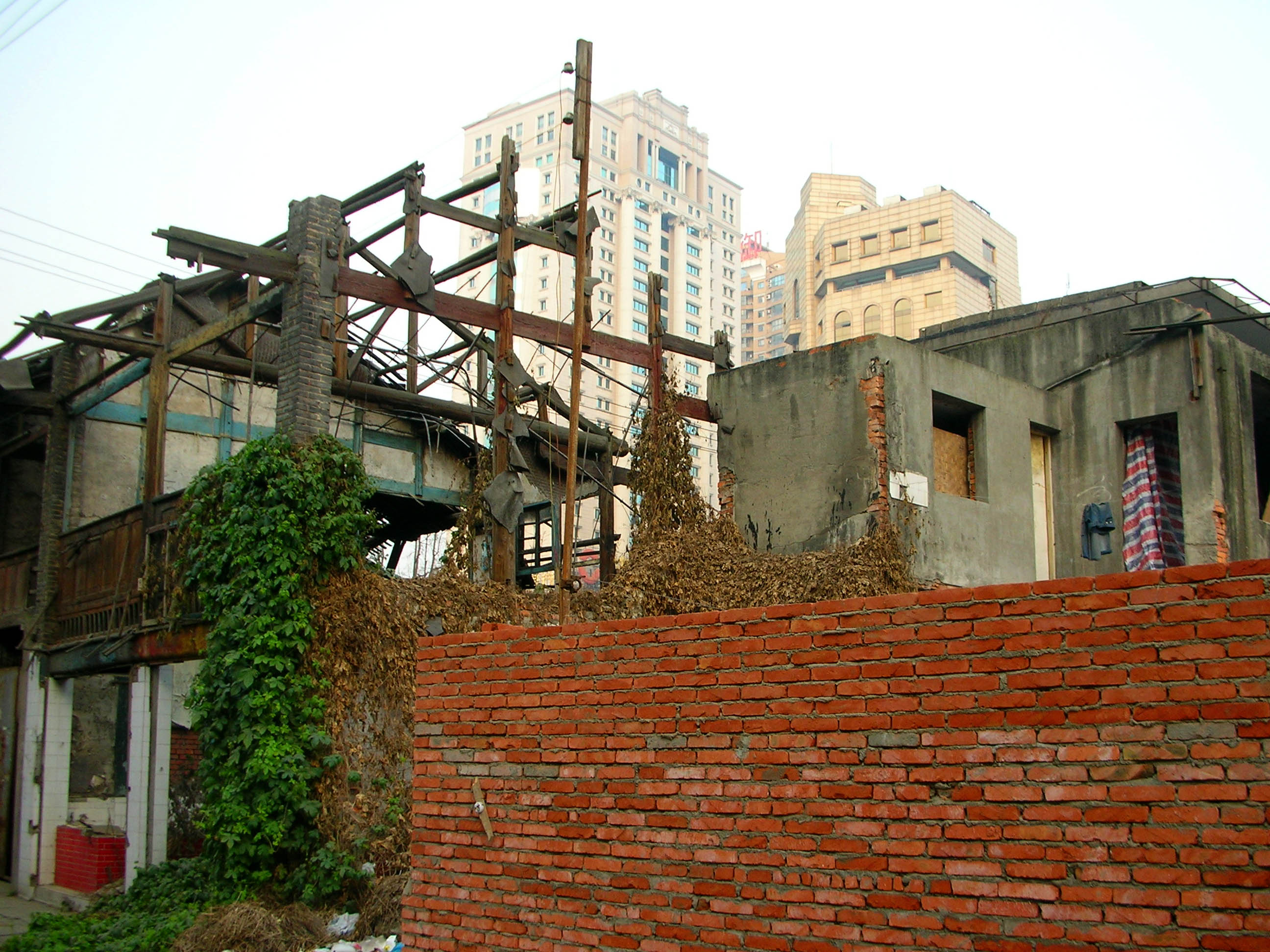 Chengdu's traditional, wooden-frame architecture is fading very, very quickly.