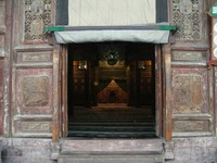 Entrance to the prayer hall of the Great Mosque.