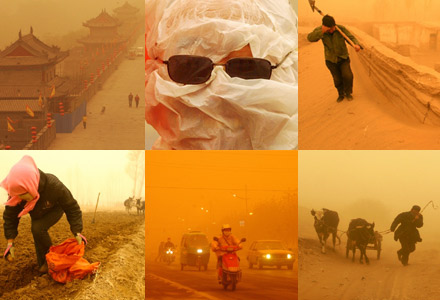 Northwest China was recently hit by the worst sandstorm in decades.