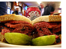 Katz's Delicatessen in New York has the world's finest pastrami sandwich.