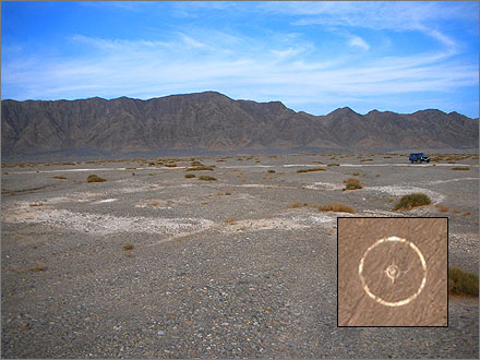 Mysterious Korla: Targets in the Desert